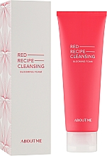 Духи, Парфюмерия, косметика Очищающая пенка для лица - About Me Red Recipe Cleansing Blooming Foam