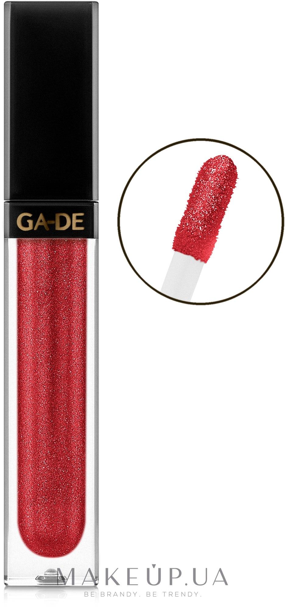 Блеск для губ с подсветкой - Ga-De Crystal Lights Lip Gloss — фото 500 - Garnet