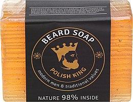Мыло для бороды - Polish King Beard Soap — фото N1