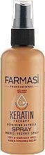 Духи, Парфюмерия, косметика Спрей для волос с кератином - Farmasi Keratin Therapy Repairing Express Spray