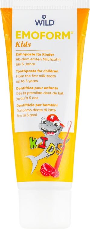 Зубная паста - Dr. Wild Emoform Actifluor Kids