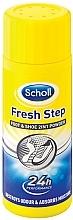 Парфумерія, косметика Дезодорант-пудра для ног - Scholl Fresh Step Foot & Shoe 2 in 1 Powder