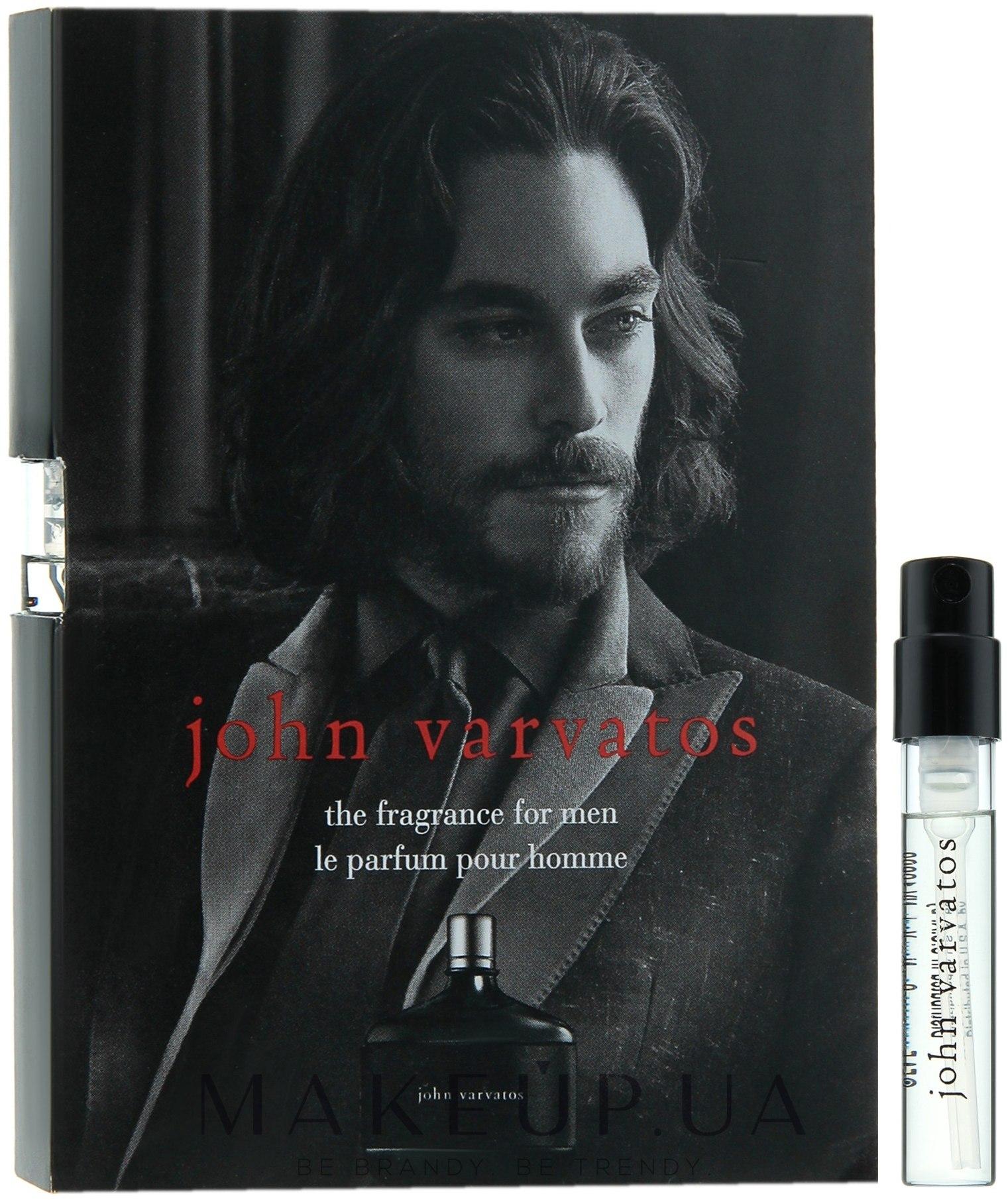 Makeup отзывы о John Varvatos John Varvatos For Men туалетная