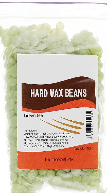 """Пленочный воск в гранулах """"Зеленый чай"""" - Hard Wax Beans"""