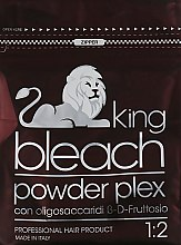 Духи, Парфюмерия, косметика Пудра для обесвечивания волос с бета-ди-фруктозными олигосахаридами - Trendy Hair King Bleach Powder Plex