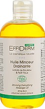 Духи, Парфюмерия, косметика Масло массажное для похудения и дренажа органическое - EffiDerm Corps Huile Minceur Drainante BIO