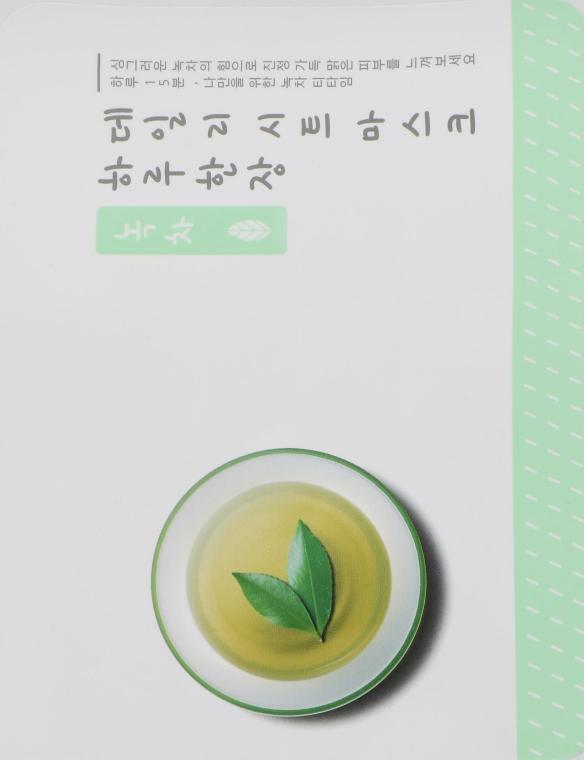 Набор тканевых масок с экстрактом зеленого чая - A'pieu Daily Sheet Mask Green Tea Soothing