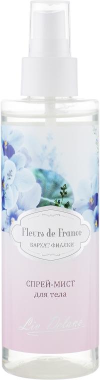 """Спрей-мист для тела """"Бархат фиалки"""" - Liv Delano Fleurs de France Spray"""