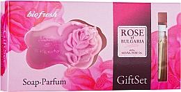 Духи, Парфюмерия, косметика BioFresh Rose of Bulgaria - Набор (edp/2,1ml + soap/45g)