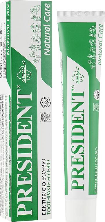 """Органическая зубная паста """"Эко-био"""" - PresiDENT Clinical Eco-Bio Toothpaste"""