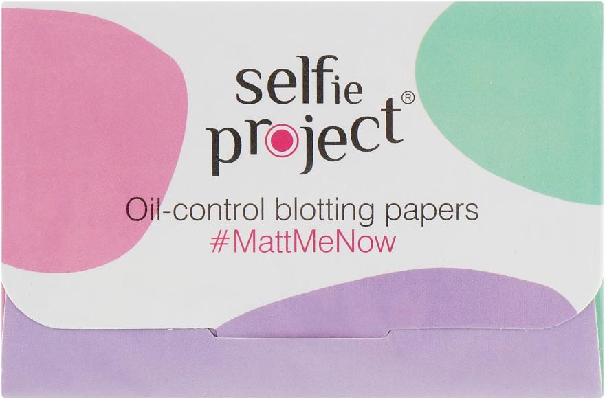 Матирующие салфетки для лица - Maurisse Selfie Project Oil-control Blotting Paper