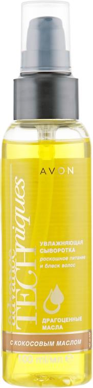 Увлажняющая сыворотка для волос с кокосовым маслом «Драгоценные масла» - Avon Advance Techniques Serum