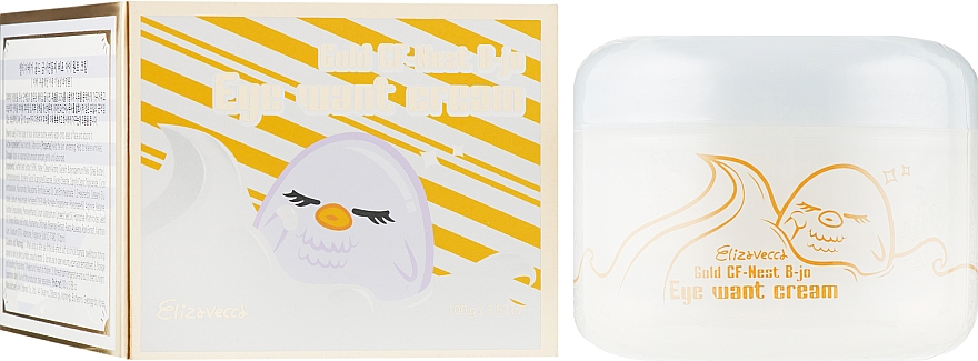 Крем для глаз с экстрактом ласточкиного гнезда - Elizavecca Face Care Gold CF-Nest b-jo eye want cream