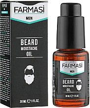 Духи, Парфюмерия, косметика Масло для волос, бороды и усов - Farmasi Men Beard Moustache Oil