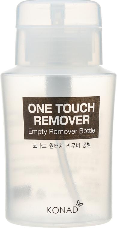 Бутылочка с помпой для жидкости - Konad One Touch Remover Bottle (пустая)