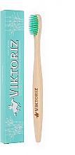 """Парфумерія, косметика Бамбукова зубна щітка """"М'яке і ніжне очищення"""" - Viktoriz Indiana"""