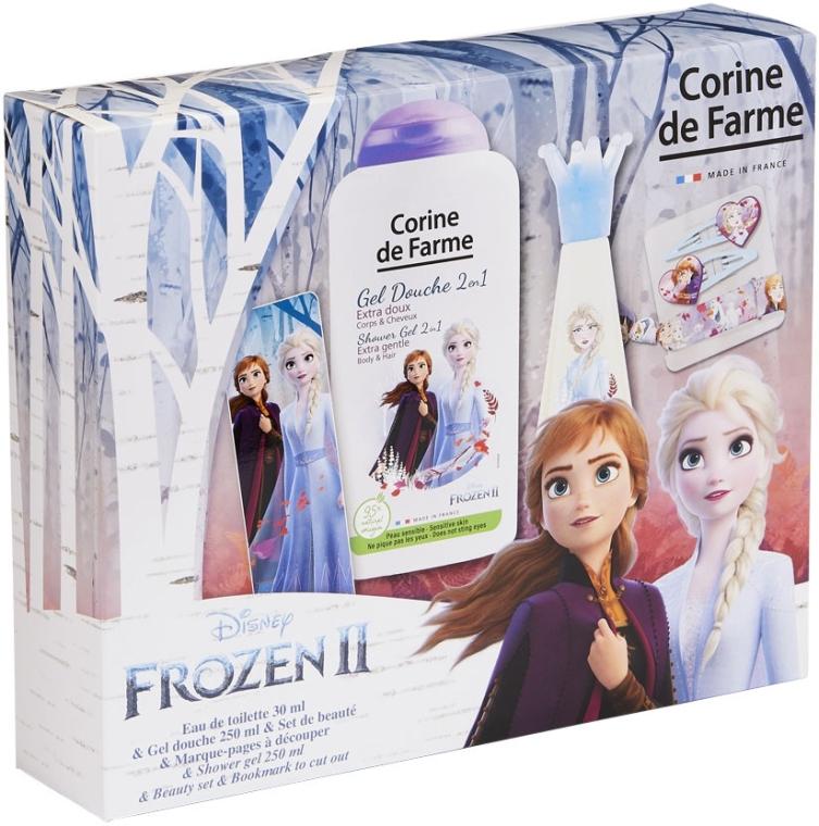 Corine De Farme Disney Frozen 2 - Набор (edt/30ml+sh/gel/250ml+accessories)