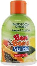 Духи, Парфюмерия, косметика Шампунь-гель для душа Exotic Twist - Malizia Bon Bons Shampoo & Body Wash
