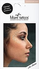 Духи, Парфюмерия, косметика Переводные тату-веснушки - Miami Tattoos Super Stars 3 Colors