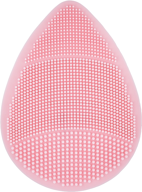 Спонж силиконовый для умывания, PF-54, розовый - Puffic Fashion