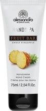 Духи, Парфюмерия, косметика Крем для рук «Сладкий ананас» - Alessandro International Hands!Up Fruit Bar Sweet Pineapple Hand Cream
