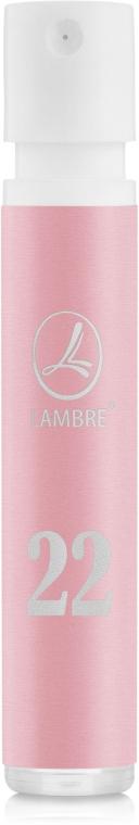 Lambre № 22 - Духи (пробник)