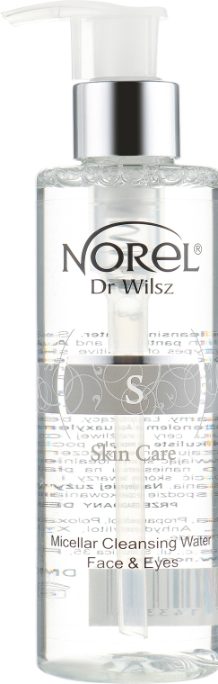 Мицеллярная вода - Norel Skin Care Micellar Cleansing Water Face & Eyes
