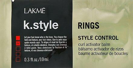 Бальзам-текстура для локонов - Lakme K.style Style Control Rings Curl Activator Balm (пробник)