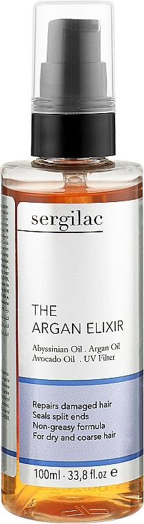 Эликсир для волос з аргановым маслом - Sergilac The Argan Elixir