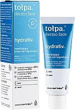 Духи, Парфюмерия, косметика Легкий увлажняющий крем для лица - Tolpa Dermo Face Hydrativ Light Moisturizer Relaxing Cream