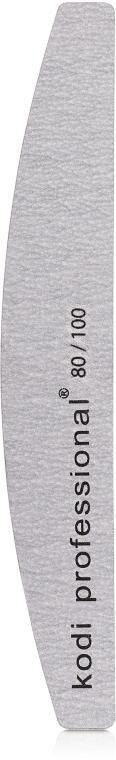 Пилка для ногтей - Kodi Professional (Half Grey, 80/100)