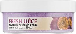 """Духи, Парфюмерия, косметика Сахарный скраб для тела """"Маракуйя и макадамия"""" - Fresh Juice Passion Fruit & Macadamia"""