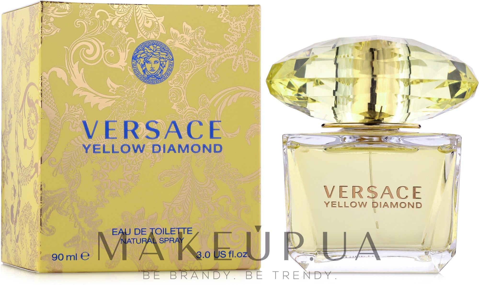 Versace Yellow Diamond - Туалетная вода — фото 90ml 0d1ace14bcac2