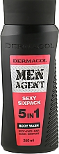 Духи, Парфюмерия, косметика Гель для душа - Dermacol Men Agent Sexy Sixpack 5in1 Body Wash