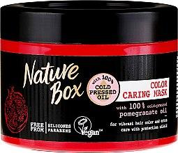 Духи, Парфюмерия, косметика Интенсивная маска для защиты цвета волос - Nature Box Pomegranate Oil Maska