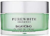 Духи, Парфюмерия, косметика Гель-крем для лица - Pure White Cosmetics Balancing Oil-Free Gel Cream