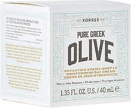 Духи, Парфюмерия, косметика Увлажняющий дневной крем c матирующим эффектом - Korres Pure Greek Olive