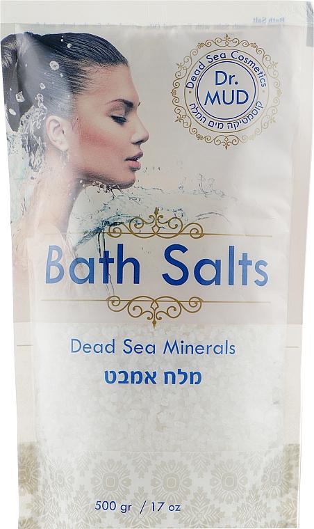 """Соль для ванны с минералами Мертвого моря """"Белая"""" - More Beauty Bath Salts"""