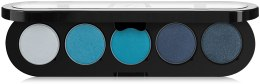Духи, Парфюмерия, косметика Палетка теней, 5 цветов - Make-Up Atelier Paris Palette Eyeshadows