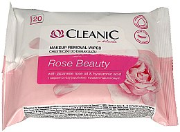 Духи, Парфюмерия, косметика Салфетки для демакияжа - Cleanic Rose Beauty
