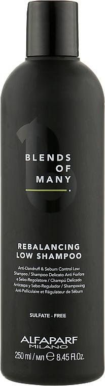 Шампунь для восстановления баланса, бессульфатный - Alfaparf Milano Blends Of Many Rebalancing Low Shampoo