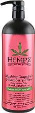 Духи, Парфюмерия, косметика Кондиционер для сохранения цвета и придания блеска волосам - Hempz Blushing Grapefruit & Raspberry Creme Conditioner