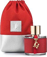 """Парфумерія, косметика Подарунковий кисет для парфумерії, червоний """"Perfume Space"""" - MakeUp"""