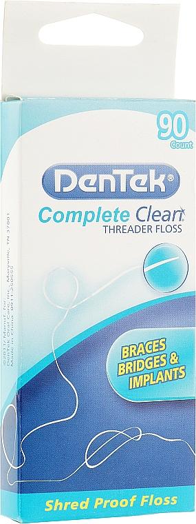 """Флосс с направителем """"Комфортное очищение"""" - DenTek Comfort Clean"""