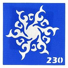 Духи, Парфюмерия, косметика Трафарет для боди-арта, 6х6 см, 230 - Biofarma