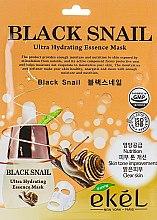 Духи, Парфюмерия, косметика Тканевая маска с экстрактом муцина черной улитки - Ekel Black Snail MAsk