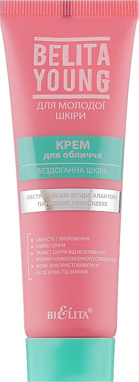 """Крем для лица """"Безупречная кожа"""" - Bielita Belita Young Cream"""