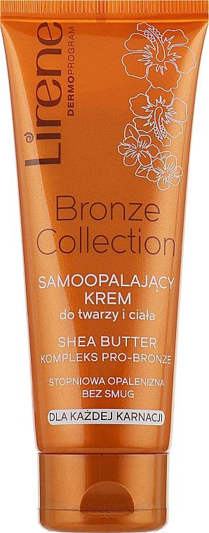 Крем-автозагар для лица и тела - Lirene Body Arabica Face & Body Cream