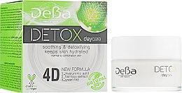 Духи, Парфюмерия, косметика Крем для лица дневной с 4D гиалуроновой кислотой для нормальной и комбинированной кожи - DeBa Detox