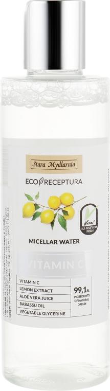 Мицеллярная вода с экстрактом лимона - Stara Mydlarnia Vitamin C Micellar Water